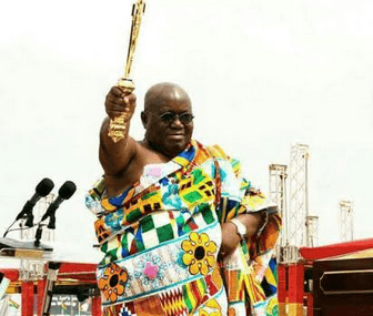 Akufo-Addo demystifies political mascot of the Johns