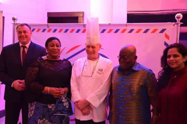 Akufo-Addo joins France Ambassador in exclusive dinner to celebrate French gastronomy