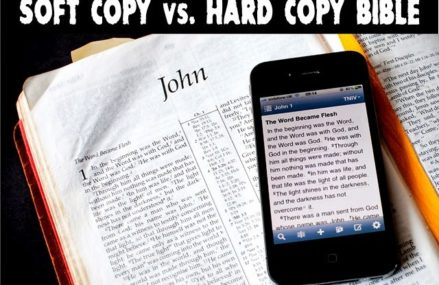 The Bible on my phone: a distraction or facilitator