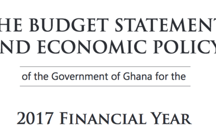 Full text: Ghana 2017 Budget Statement