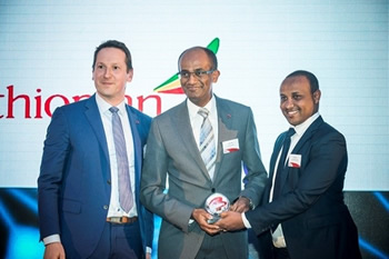 Ethiopian Airlines Wins Cargo Airline Award for Network Development