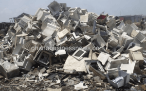 Minister says Ghana e-waste plant to create 20,000 jobs, but silent on health and environmental issues