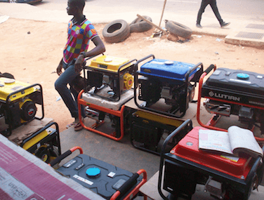 The generator set: A popular product with potential harmful effects to infants