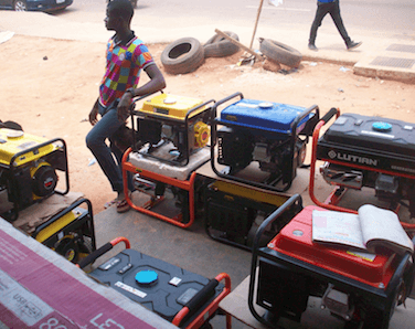 The generator set: A popular product with potential harmful