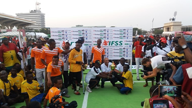 Ghana wins Binatone International Skate soccer competition