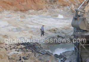 Operation Vanguard arrests four suspected Chinese illegal miners