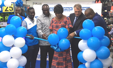 Decathlon opens first largest shop in Accra