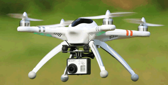 Government to deploy drones in fight to end galamsey