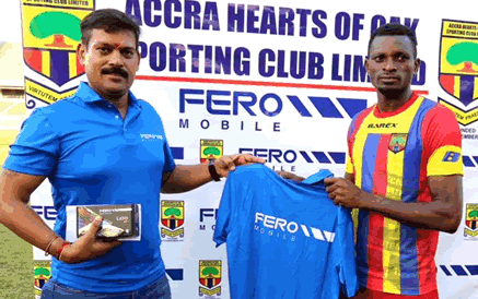 Hearts secures deal with Fero Mobile