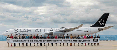 Star Alliance is 20 years