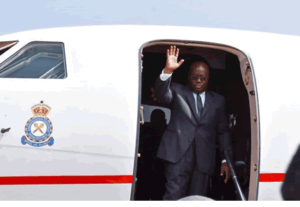 President Akufo-Addo leaves for Brazzaville