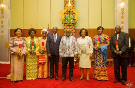President Akufo-Addo commissions five more envoys