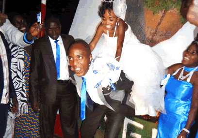 The Burundian wedding where height didn't matter