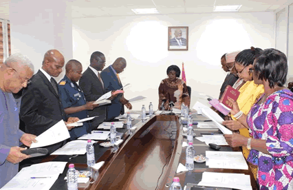 Ghana Civil Aviation Authority Board Inaugurated