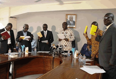 Minister inaugurates Ghana Standards Authority Board