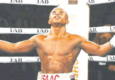Isaac Dogbe prepares for WBO Featherweight title bout
