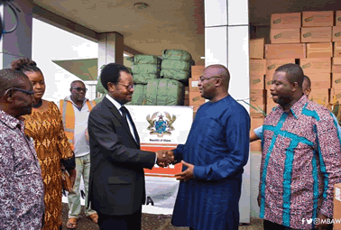 Ghana supports Sierra Leone with over $1m