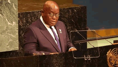 President Akufo-Addo's Speech to 72nd Session of UN General Assembly