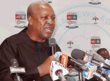 Nationalism and patriotism have become deficient in Ghana – Mahama