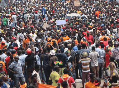 Children in Togo trapped in political crisis