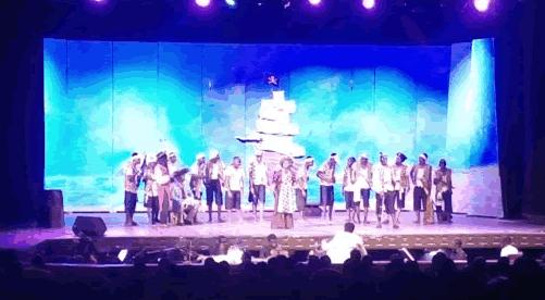 "Achimota School performs ""the Pirates of Penzance"" opera"