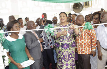 First Lady commissions Mother and Baby Unit at KATH