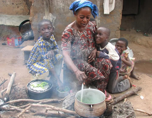 Ghanaian women dying from kitchen smoke induced infections