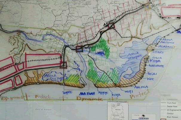 Unlocking the potentials of the Volta Delta Basin through integrated planning