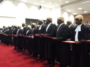 Thirty-eight lawyers called to the Bar