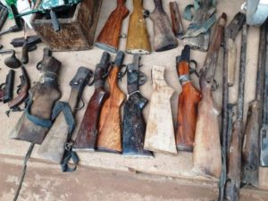 Sophisticated weapons in Alavanyo threatening national security – Police