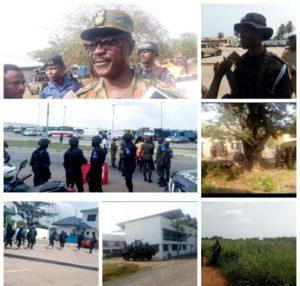 Security agencies demonstrate Ghana's readiness to combat terrorism