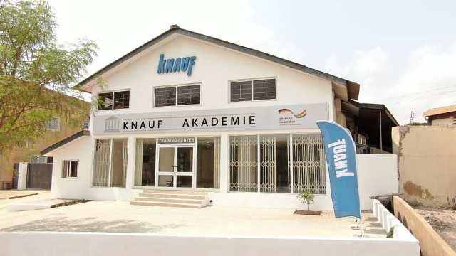 German Company Knauf opens centre to train Ghanaians - Ghana