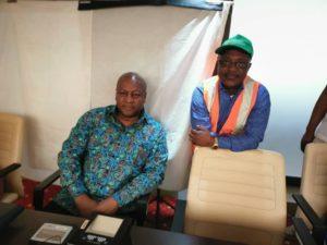 Former President Mahama registers for Ghana Card