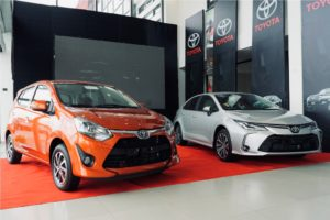 Toyota Ghana unveils new Corolla and Agya cars