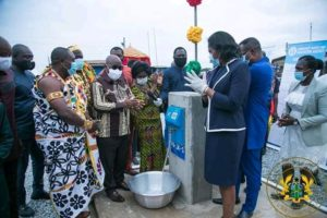 President commissions GH¢73.4m water systems in Central Region