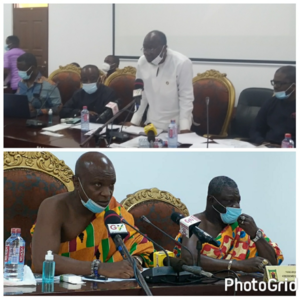 Finance Minister briefs House of Chiefs on Agyapa Royalties deal