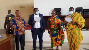 Togbe Tepre Hodo heads Volta House of Chiefs