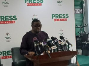 NDC accuses government of deliberately failing to activate Presidential Transition process