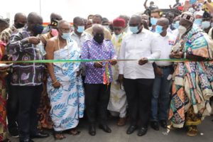 President Commissions first phase of Obetsebi-Lamptey interchange