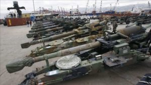 German arms exports to the Middle East worth over a billion euros in 2020