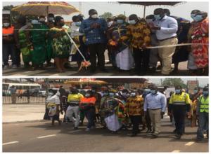 AngloGold Ashanti Ghana hands over1.3km asphalted road