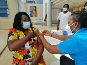 Ghana Health Service says public will receive second dose of COVID-19 vaccine at recommended time