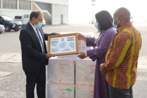 Ghana receives 50,000 COVID-19 vaccines from India