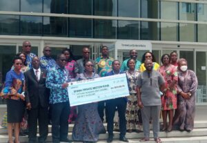 Ghana Mission in Washington donates $59,850 to COVID-19 Private Sector Fund