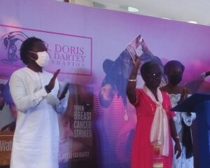 Two books of Dr Doris Yaa Dartey launched in her memory
