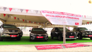 Toyota Ghana launches Automark Brand
