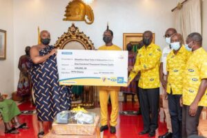 MTN donates GH¢100,000.00 to Otumfuo Education Fund