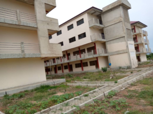 Work almost done, painting, weeding left – Aflao E-block contractor