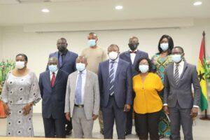 MOH inaugurates Governing Board of Korle-bu Teaching Hospital