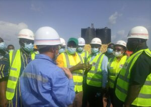 Parliamentary Select Committee on Agriculture and Cocoa Affairs visits Pwalugu Project